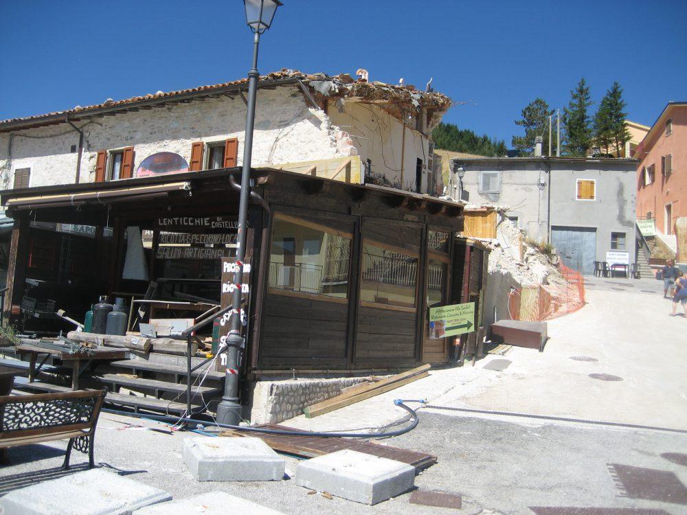 Ex-bar in Castelluccio
