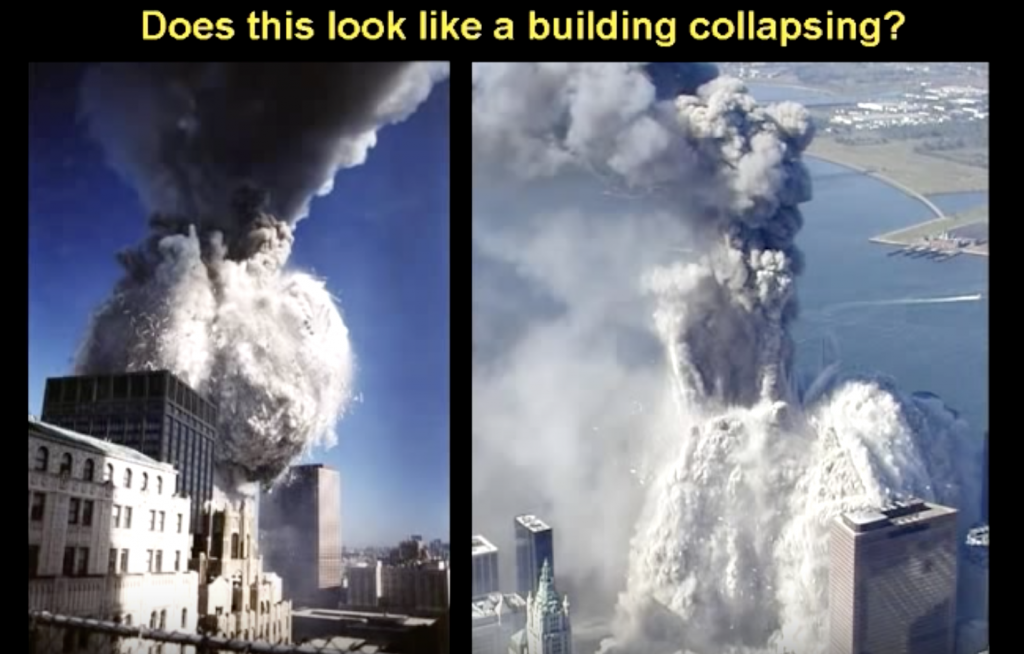 The towers are dustifying